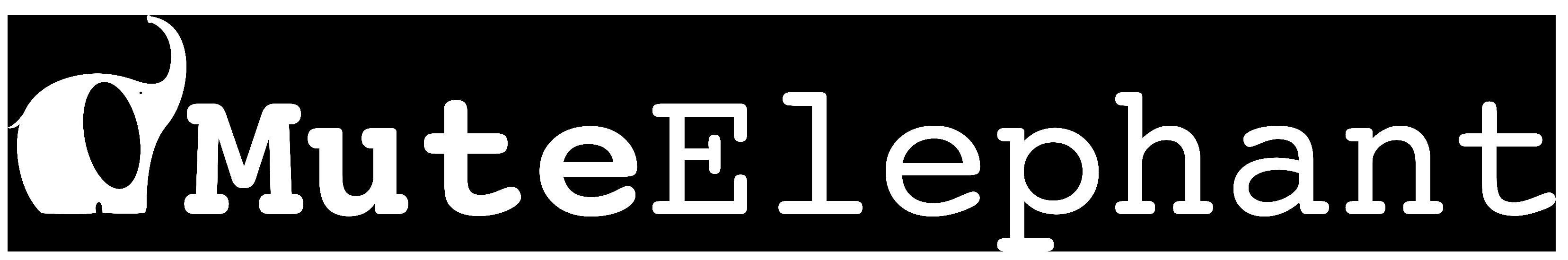Mute Elephant Music Logo